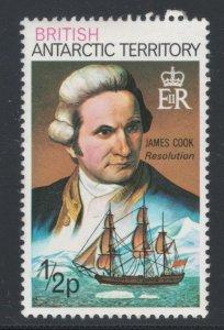 British Antarctic Territory 1975 Explorers 1/2p Scott # 45 MH