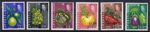 Montserrat - Scott #193-198 - MNH - A couple w/patchy gum - SCV $6.15