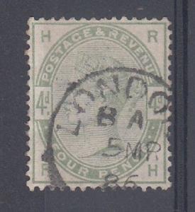 Great Britain Scott 103 Used VF (Catalog Value $200.00)