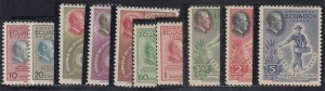 Ecuador - 1948 - SC 509-13,C193-97 - NH - 2 Complete sets