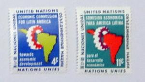 UN, NY - 93-94, MNH Set. Economic Comm. SCV - $0.50