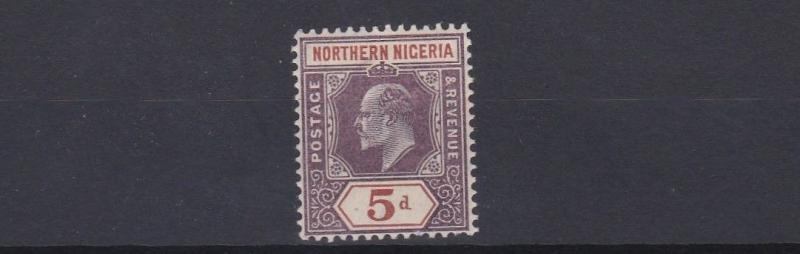 NORTHERN NIGERIA 1905 - 07      S G 24   5D VALUE   MH