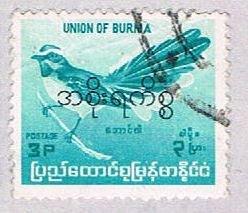 Burma 178 Used Bird 1964 (BP3635)