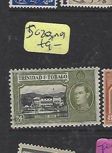 TRINIDAD & TOBAGO  (P2308B)  KGVI  24C  SG 253   MOG