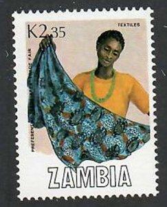 Zambia; Scott 445; 1988;  Used; NH