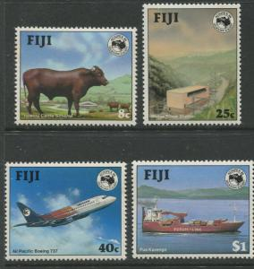 Fiji - Scott 514-517 - General Issue -1984 - MNH - Set of 4 Stamps