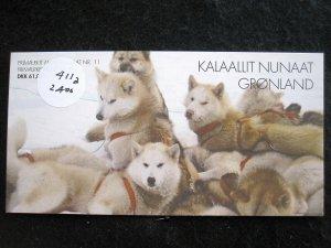 GREENLAND - SCOTT# 411a - MNH - CAT VAL $12.00