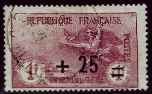 France SC B18 SCV$37.50 Used F-VF hr...Highly Collectible!!