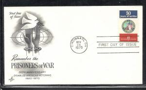 US #1421 Disabled Veterans Artcraft cachet unaddressed fdc