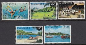 St Vincent 430-4 Tourism mnh