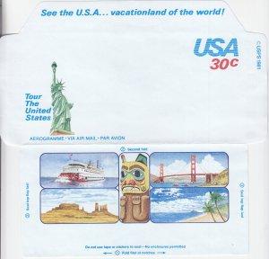 Tour the US, Aerogramme (S18848)