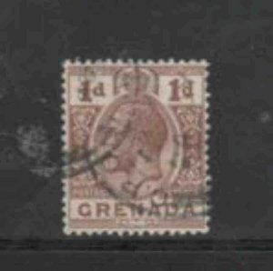 GRENADA #80 1913 1p KING GEORGE V F-VF USED
