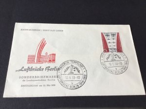 Berlin Airlift 1959 first day   stamps cover Ref R28694