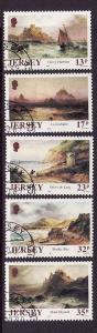 Jersey-Sc#527-31-used set-Sarah Louisa Kilpack paintings-198