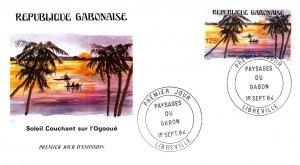 Gabon, Worldwide First Day Cover