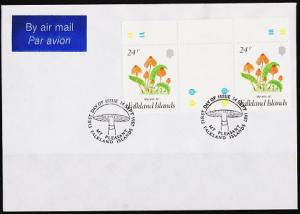 Falkland Islands. 1987 Cover. 24p(Pair) S.G.548  Fine Used