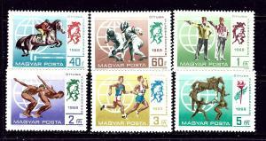 Hungary 1998-2003 MNH 1969 Pentathlon