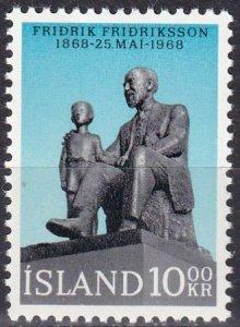 Iceland #399   MNH  (SU7984)