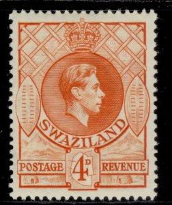 SWAZILAND GV SG15, 4d orange, M MINT.