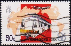 Hong Kong. 1986 50c S.G.517 Fine Used