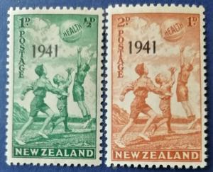New Zealand # B18-B19 MNH