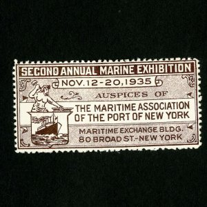 US Stamps 1935 Marine Expo