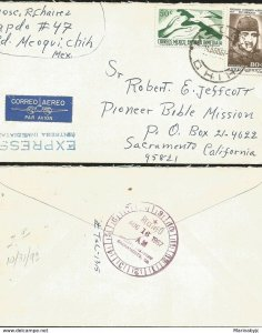 J) 1967 MEXICO, IMMEDIATE DELIVERY, HANDS WITH DOVE, FIRST AIR MAIL IN 1917, HOR
