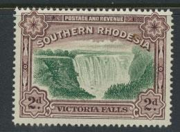 Southern Rhodesia  SG 29  Mint very light trace of Hinge