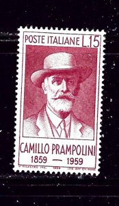 Italy 772 MH 1959 Camillo Prampolini