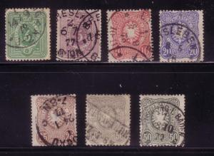 Germany Sc. # 29 / 35 F/VF Used