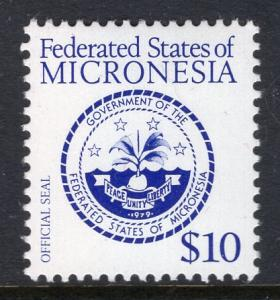 Micronesia 39 Coat of Arms MNH VF
