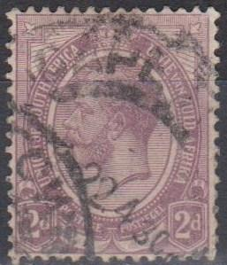 South Africa #5 F-VF Used (B2038)