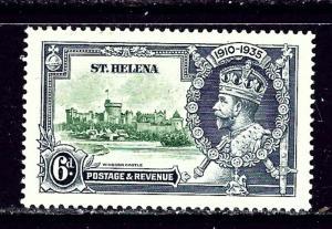 St Helena 113 MH 1935 KGV Silver Jubilee