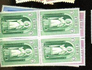 Ireland #179-81 MINT Blocks F-VF OG LH/NH Cat $ 22.50