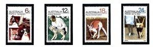 Australia 500-03 MNH 1971 R.S.P.C.A. Centenary