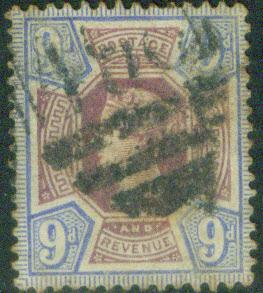 Great Britain Scott 120, Victoria CV$45 1887