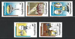 Norfolk Island    MNH  347 - 351