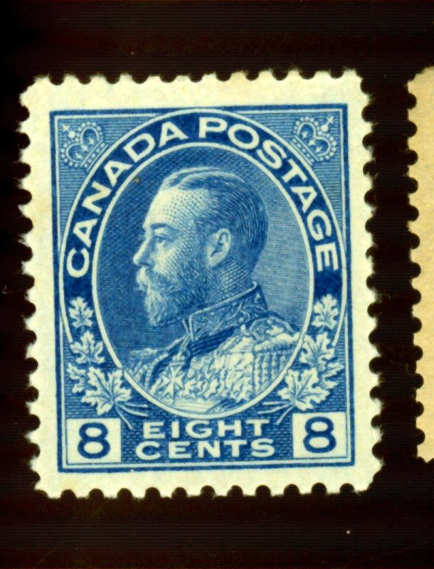 Canada #115 MINT VF OG LH CAt$32.50