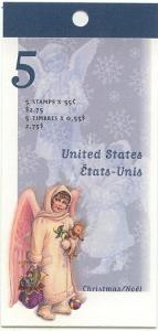 Canada - 1999 55c Angel with Toys Booklet #BK223b