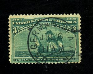 232 USED GERMANY CANCEL