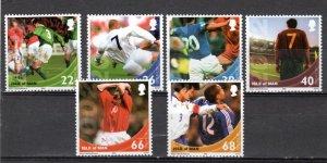 Isle of Man 2002 World Cup Football MNH