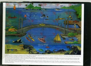 PALAU 2002 MARINE LIFE SHEET OF 30 STAMPS MNH