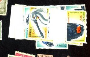 GUINEA #C41-3 (4) MINT FVF OG NH Cat $82