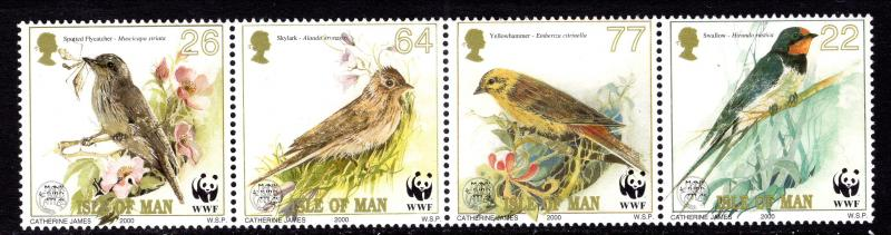 Isle of Man 860 Birds MNH VF