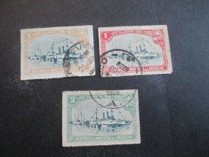 Uruguay #174-76 Used WDWPhilatelic (H5K7)