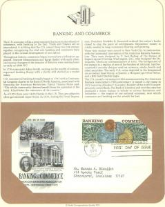Banking & Commerce, FDC's (USHFDC1577-8)