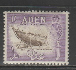 Aden #55 Mint LH