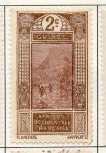 French Guinea 1913 Early Issue Fine Mint Hinged 2c. 193460