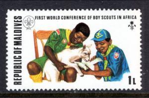 Maldive Islands 427 Boy Scouts MNH VF