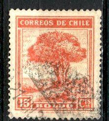 Chile 1940: Sc. # 200; O/Used Single Stamp
